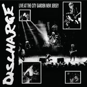 DISCHARGE - Live At The City Garden New Jersey LP Let Them Eat Vinyl LTD CLEAR uusi