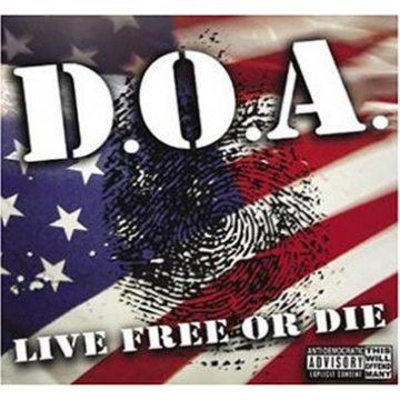 D.O.A. - Live free or die LP Social Bomb UUSI