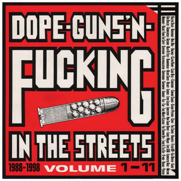 V/A - Dope - Guns' -n- Fucking In The Streets volume 1-11 2-LP AmpReptile UUSI