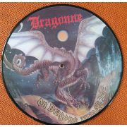 DRAGONNE - On Dragons Wings PICTURE-LP Dust Records -/EX-
