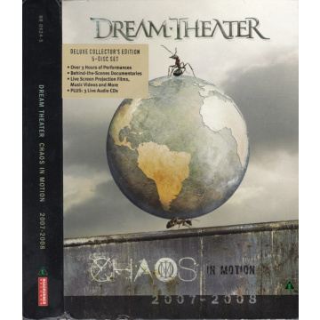 DREAM THEATER - Chaos in Motion 2007-2008 LTD 2DVD+3CD