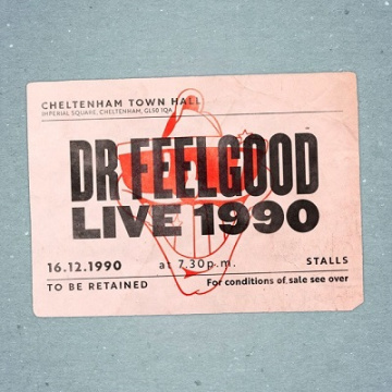 DR. FEELGOOD - Live 1990 at Cheltenham Town Hall CD+DVD