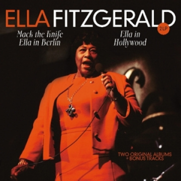 ELLA FITZGERALD - Ella In Berlin/Hollywood-Two Originals Albums (1960-1961) 2LP UUSI Vinyl Passion