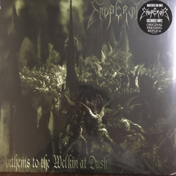 EMPEROR - Anthems to the welkin at dusk LP GREEN VINYL
