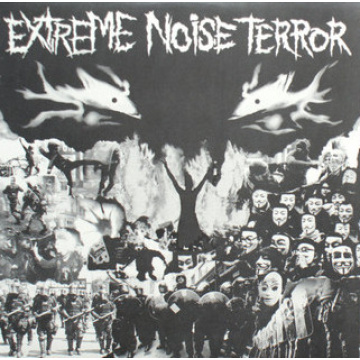EXTREME NOISE TERROR - Extreme Noise Terror LP Deep Six Records LTD GREEN MARBLE