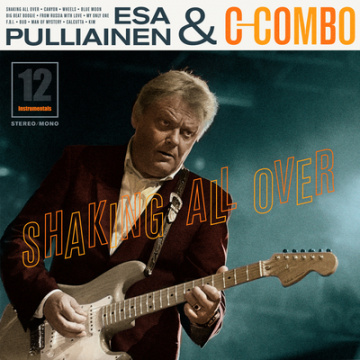 ESA PULLIAINEN C-COMBO - Shaking all over CD