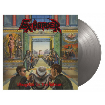 EXHORDER - Slaughter In the Vatican LP UUSI Music On Vinyl LTD 2000 Silver Vinyl