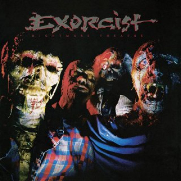 EXORCIST - Nightmare Theatre LP Hr LTD RED