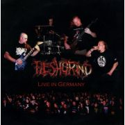 FLESHGRIND / RESURRECTED - Live In Germany/Live At Fuck The Commerce III LP Perverted Taste EX-/EX (TARJOUS)