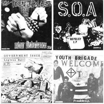 "V/A - Four Old 7""s On A 12"" LP Dischord"