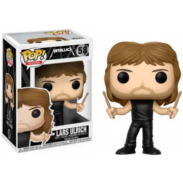 FUNKO POP! ROCKS - Metallica - Lars Ulrich #58
