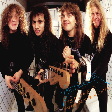 METALLICA - $5.98 E.P. - Garage Days Re-Revisited KASETTI