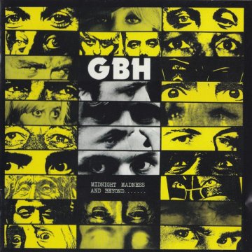 GBH - Midnight Madness And Beyond LP Cleopatra LTD Yellow vinyl