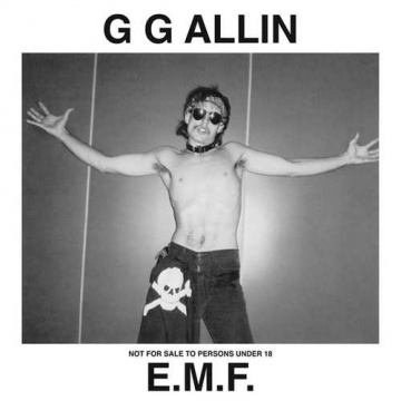 G.G. ALLIN - E.M.F. LP UUSI Toilet Rock