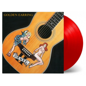 GOLDEN EARRING - Naked II LP UUSI Music On Vinyl LTD 2000 RSD 2018 RED VINYL