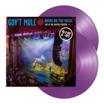 GOV'T MULE - Bring On the Music Vol.1 Purple Vinyls
