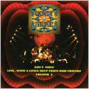 GOV'T MULE - Live With a Little Help From Our Friends Vol.2 CD