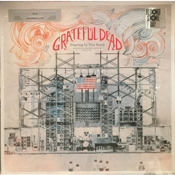 GRATEFUL DEAD - Playing In The Band - Seattle, Washington 5/21/74 LP (LTD BLACK FRIDAY 2018 RELEASE)