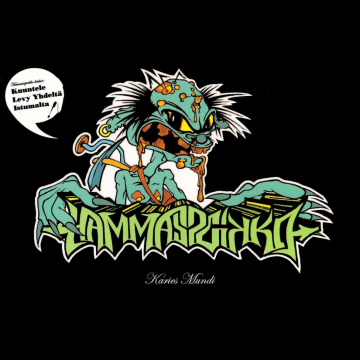 HAMMASPEIKKO - Karies Mundi LP Svart LTD 500 COPIES