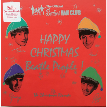 811718a3ebb BEATLES - Happy Christmas Beatle People! (The Christmas Records) 7