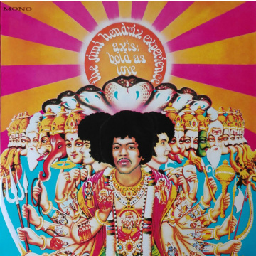 JIMI HENDRIX EXPERIENCE - Axis: Bold As Love LP UUSI Sony