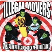 ILLEGAL MOVERS - BuzzPunkPower LP Middle Class CLEAR VINYL EX/EX