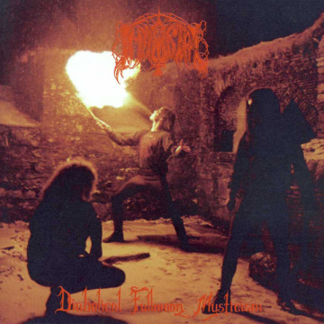 IMMORTAL - Diabolical Fullmoon Mysticism LP UUSI Osmose LTD Red