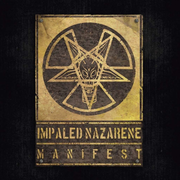 IMPALED NAZARENE - Manifest LP UUSI Osmose LTD YELLOW GALAXY