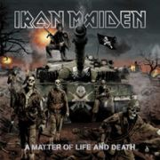 IRON MAIDEN - A matter of life and death LTD+DVD