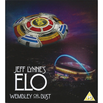 JEFF LYNNE'S ELO - Wembley Or Bust 2CD+Blu-ray