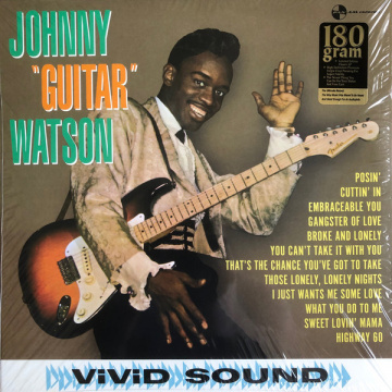 JOHNNY GUITAR WATSON - Johnny Guitar Watson LP UUSI Pan-Am Records