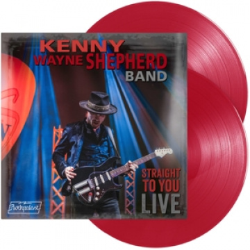 KENNY WAYNE SHEPHERD BAND - Straight To You-Live 2LP Provogue LTD RED VINYLS
