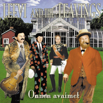 LEEVI AND THE LEAVINGS - Onnen avaimet LP GREEN VINYL Svart Records