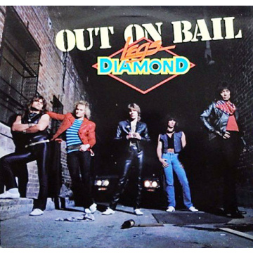 LEGS DIAMOND - Out on Bail LP MFN VG+ (TARJOUS)