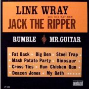 Link Wray And His Ray Men ‎– Jack The Ripper LP  Sundazed Music