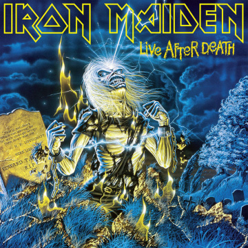 IRON MAIDEN - Live After Death 2LP UUSI Parlophone