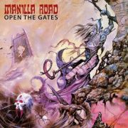 MANILLA ROAD - Open the Gates LP LTD WHITE/GREY SPLATTER