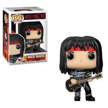 FUNKO POP! ROCKS - Mick Mars #72