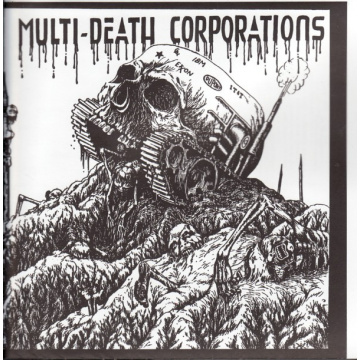 "MDC - Multi-death Corporations 7"" EP LTD YELLOW Beer City Rec"