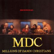 MDC - Millions Of Damn Christians LP Beer City USA RSD 2016 RELEASE UUSI