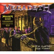 MEGADETH - The System Has Failed (2019 Remaster) CD