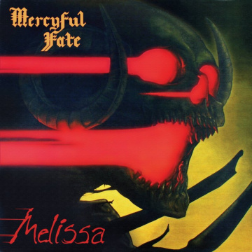 MERCYFUL FATE - Melissa LTD opaque cherry red UUSI Metal Blade Records