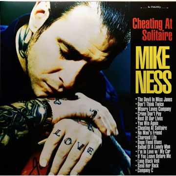 MIKE NESS - Cheating At Solitaire 2LP UUSI Craft