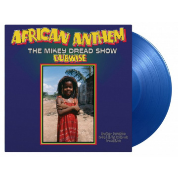 MIKEY DREAD - African Anthem Dubwise (the Mikey Dread Show) LP UUSI Music On Vinyl LTD 1000 BLUE