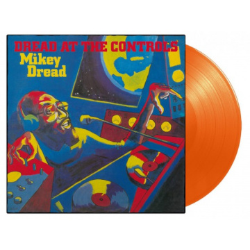 MIKEY DREAD - DREAD AT THE CONTROLS LP UUSI LTD 750 orange