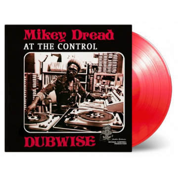 MIKEY DREAD - At the Control Dubwise LP LTD 1000 Red Vinyl