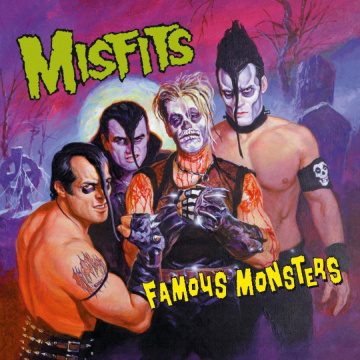 MISFITS - FAMOUS MONSTERS LP UUSI Music On Vinyl BLACK