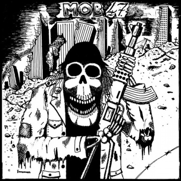 "MOB 47 - Mob 47 EP 7"" Insane Society Records"