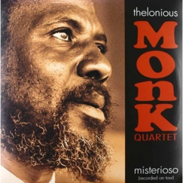 THELONIOUS MONK Quartet - Misterioso (recorded on tour) LP UUSI Ermitage