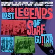 V/A - More Lost Legends of Surf Guitar 2-LP Sundazed UUSI M/M